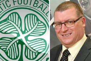 Martin Wilson attended Sunday's match as Celtic defeated Rangers 1-0