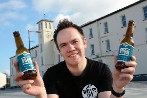 James Huey, owner of The Walled City Brewery.