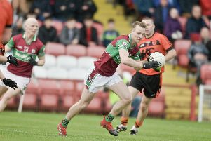 Liam MCGoldrick was superb as Eoghan Rua clinched a second Derry senior title at Celtic Park on Sunday