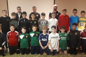Derry City's first ever u-13 squad unveiled