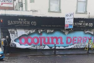The site of the new Boojum Derry