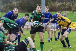 City of Derry's scrum half Simon Logue returns this weekend to face the league leaders Ballina at the Craig Thompson Stadium.