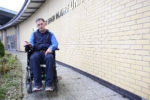 George Haslett pictured at Musgrave Park Hospital in Belfast. Picture By: Arthur Allison Pacemaker.