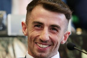 Derry boxer, Tyrone McCullagh says he will 'embarrass' TJ Doheny in the ring should the IBF world champion choose to put his title on the line in 2019