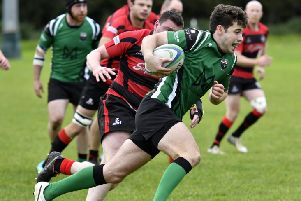 Alex McDonnell ws on the scoresheet for City of Derry at Ballina on Saturday.