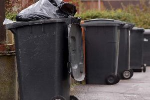 Bin collections disrupted.