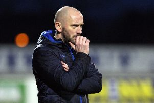 Institute boss, Paddy McLaughlin has plenty to think about after an approach by Cliftonville