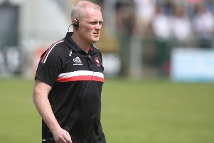 Derry manager Damian McErlain. (�INPHO/Lorcan Doherty)