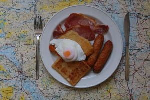 A photo (not this one - see below) of an alternative Ulster Fry generated considerable debate on social media at the weekend.