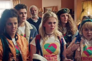 Derry Girls series two is due back on Channel 4 next month.
