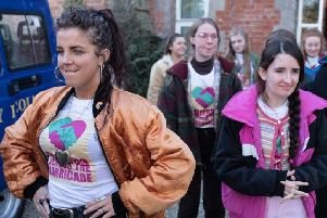 A scene from episode one of the new series of Derry Girls. (Photo: Channel 4)