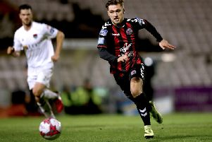 Eoghan Stokes in action for Bohemians last season