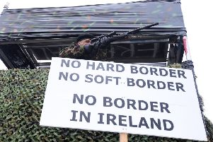 Trade unionists call for demos, strikes and walk-outs against hard border if Derry crashes out of EU next week