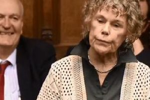 Labour M.P. and prominent Brexiteer, Kate Hoey, was jeered in the House of Commons on Monday. (Video/Photo: ParliamentLive.tv)