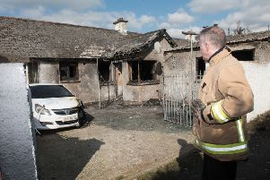 Station commander Clive Lowry confirmed that a fire investigator would be on the scene this morning. (Pacemaker)
