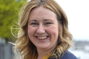 Mary Durkan is an SDLP candidate in forthcoming Derry City & Strabane District Council elections to be held in May 2019. DER1319GS-036