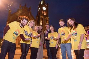 Organising committees from across the north west gathered in Derry this week for the launch of Electric Ireland's Power of Hope campaign in support of the 11th annual Darkness Into Light event which take place at 4.15am on Saturday May 11.