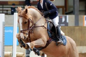 Sarah McLaughlin who will be show jumping at the Balmoral Show next month