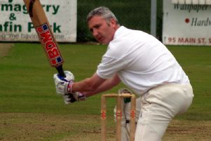 Recently appointed NWCU Chairman Brian Dougherty pictured during his playing days with Creevedonnell.