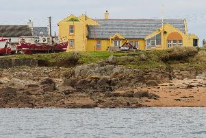 The hotel is for sale on Tory Island, Co. Donegal.