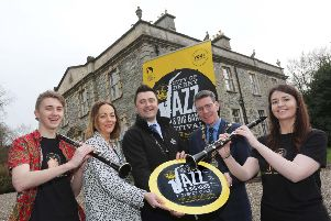 City of Derry Jazz and Big Band Festival 2019 launch.