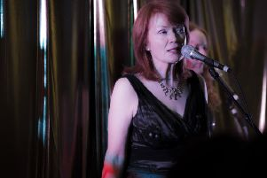 Anne Tracey pictured at a previous Jazz Festival.