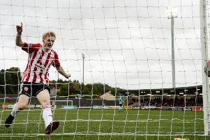 Derry City winger, Adrian Delap is on Stephen Kenny's radar.