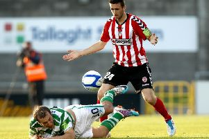 Former Derry City and Celtic left-back, Danny Lafferty has been released by Sheffield United.