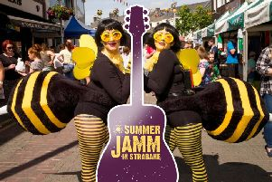 Strabane's Big Weekend returns with Summer Jamm from Friday, June 14 ' Sunday 16 when the town centre will be 'buzzing' with live music, dance, street entertainment, arts & crafts, and 'Strajamba' Music Festival with headline act Nathan Carter.