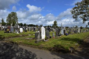 Derry's City Cemetery. DER2017GS027