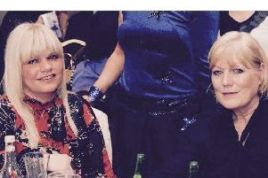 The late Joan Kelly pictured with her daughter Siobhan McGowan. Joan passed away in 2016 after sh ewas diagnosed with Leiomyosarcoma.
