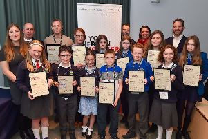 St Mary's runaway success in awards recognising future of engineering