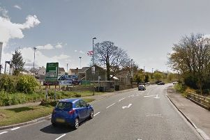 The A5 at Newbuildings. (Google Earth)