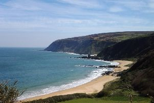 Kinnego Bay is a popular destination.