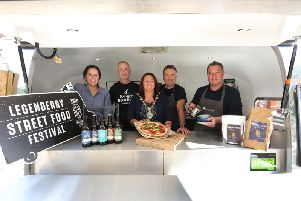 The street food festival opens this evening.