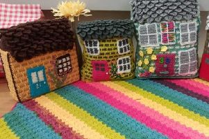 Get creative over the summer months with 'Woolly Walled City'