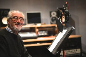 Jim Craig who provides the voice of Bernie the Hermit Crab in Puffin Rock.