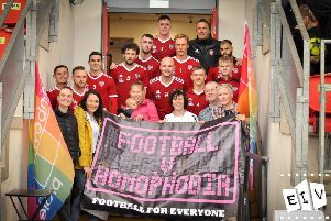Football versus Homophobia taking place today