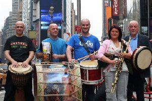 Different Drums of Ireland, who will perform at The Playhouse on Saturday, September 21