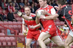 Pearse McNickle was in superb form as Drumsurn cruised past Slaughtmanus in the Derry Intermediate Championship.