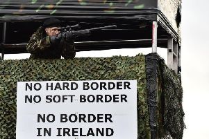 A No Deal Brexit could see a return to a hard border in Ireland. (Photo: Getty Images)