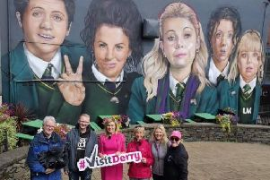 Mary Kennedy and the team at Nationwide will explore Derry's murals at 7 p.m. this evening.