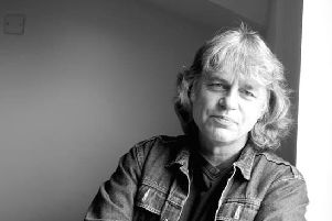 The poet and playwright Damian Gorman has come to Derry.