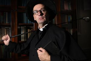 Donal Courtney as Monsignor Hugh O'Flaherty in 'God Has No Country', coming to The Playhouse this Saturday (October 5)