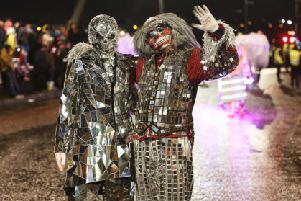 """Derry Halloween - Return of the Ancients�"""" International Halloween Street Carnival Parade ''Photo by Lorcan Doherty"""