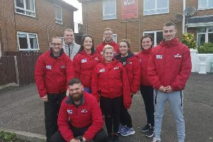 Members of On Street Community Youth in Galliagh