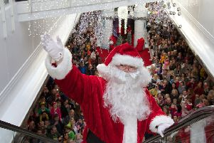A big turnout is expected for the arrival of Santa. (Photo - Deirdre Heaney, nwpresspics)