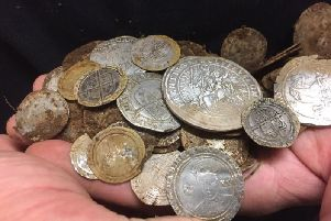 The coins have no been passed on to the Ulster Museum who will provide an official valuation.