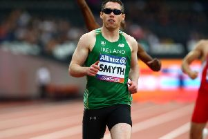 Jason Smyth won 100m gold in Dubai.