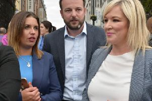 Sinn F�in's  Elisha McCallion and the SDLP's Colum Eastwood are the frontrunners ahead of December's election.